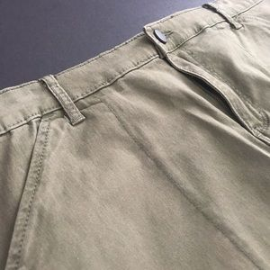 Westport Skirts - Olive Westport 1962 poly spandex khaki skirt